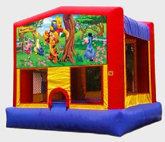 Winnie, Pooh Bear, Orange County Bounce House, Jumpers, Kids, Rentals